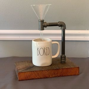 Handmade pour over coffee stand